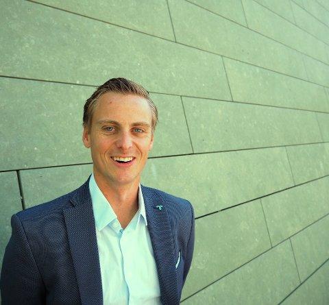 Helge Bjune, salgs- og konserndirektør i Region Øst – Telenor Norge AS