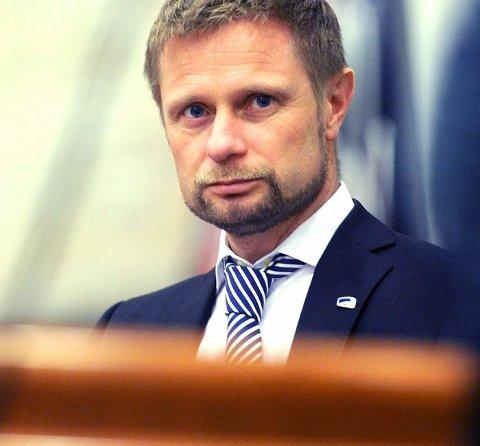 Helse- og omsorgsminister Bent Høie
