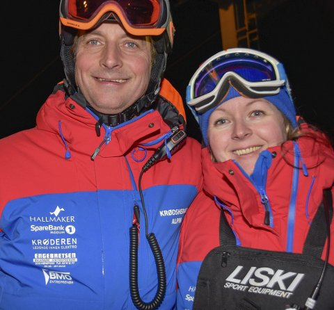 DYKTIG TOSPANN: Connie Hagen og Marius Arnesen utfyller hverandre på en veldig god måte – på toppen av trenerpyramiden.