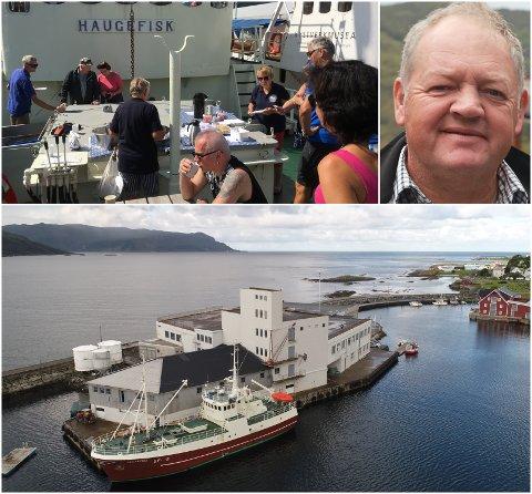 Haugefisks Venner og leiar Kåre Jarl Langeland jobbar med å få båten sertifisert for 36 passasjerar pluss mannskap.
