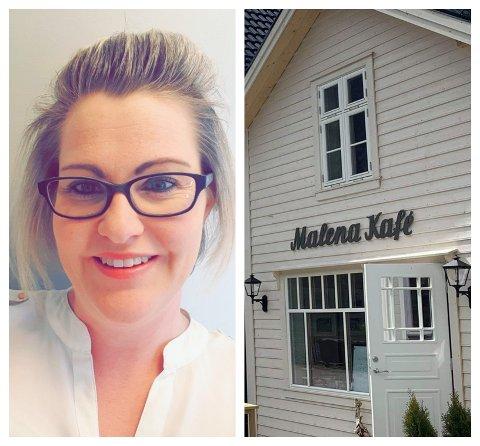 NYTT: Marita Mossestad blir ny dagleg leiar av bygdas nye kafè.