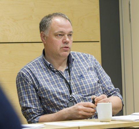 FIKK REFS: Ordfører Knut Hvithammer (Ap).
