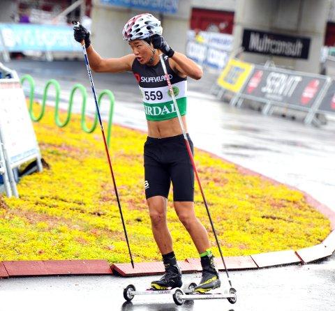I FORM: Petter Stokkeland gikk flere gode løp og oppnådde bra plasseringer under Blink-festivalen i Sandnes.