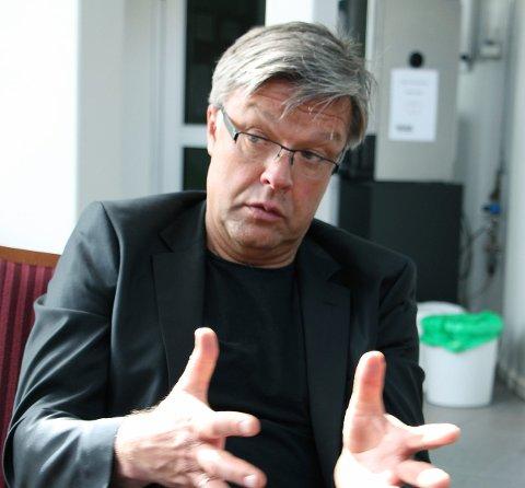 Skiftes ut: Tore Berg har vært prosjektleder for det nye registerbygget. Nå blir han erstattet. Foto: Hildegunn Tjøsvoll
