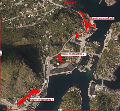 ENDRINGER: Statens vegvesen har varslet tre enringer på den vedtatte reguleringsplanen