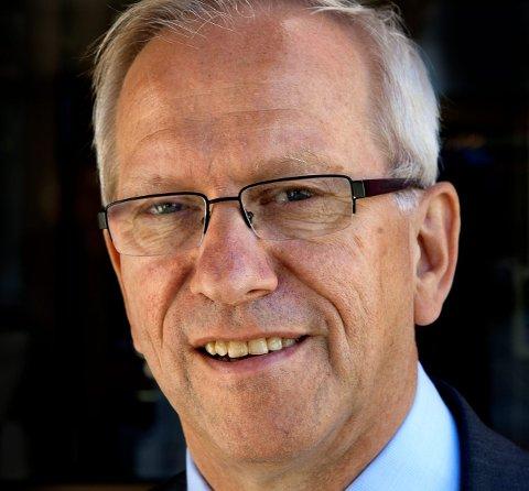 Merkedag: Rektor Jørn Wroldsen ved Høgskolen i Gjøvik.ARKIVBILDE