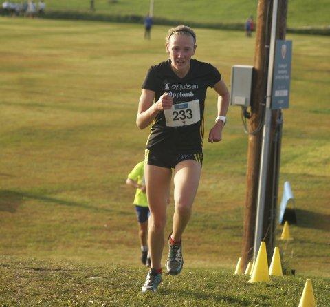 Jessica Silber vant fem kilometeren i GT-karusellen på Raufoss tirsdag.
