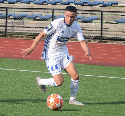 Jay Beckford har spilt to treningskamper for FK Gjøvik-Lyn og fullfører trolig overgangen fra Lillehammer FK i løpet av uka.