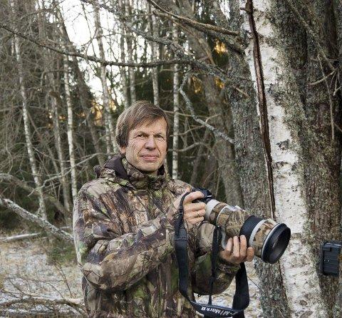 DIGITAL FESTIVAL: Pål Hermansen, en av Europas fremste naturfotografer, er leder av programkomiteen i Norsk Naturfotofestival. - Årets festival blir kort og annerledes, men kanskje får vi et større publikum når den er digital.