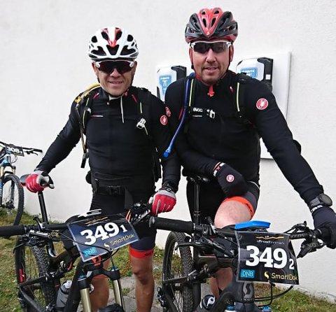 Kenneth og Kai Ove klarte målet sitt med glans.