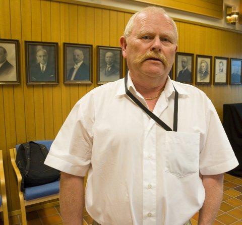 ORDFØRERKANDIDAT: Geir Olsen (H) mener Høyre er et tydelig opposisjonsparti. Nå håper han på et godt valg og at partiet kan få innflytelse i den neste perioden.