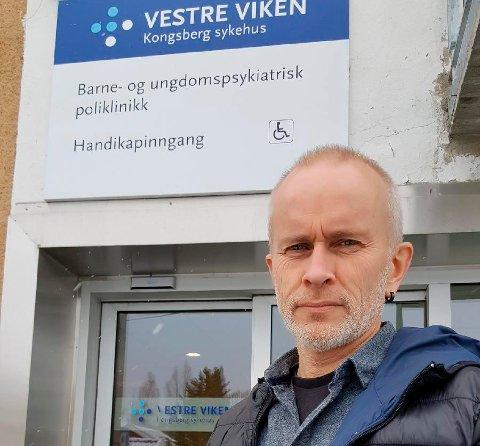 FRUSTRERT:  Foretakstillitsvalgt i Fellesorganisasjonen, Harald Baardseth, er frustrert på brukernes vegne over Vestre Vikens sommerstengningsplaner. Ringerike og Ål er berørt, Kongsberg slipper unna.
