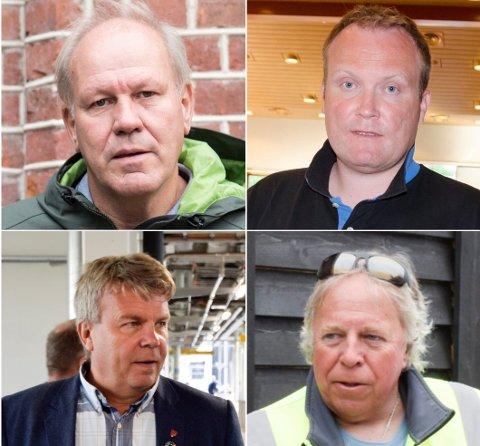 STERKE PÅSTANDER: Ivar Gunnar Lia har kommet med sterke påstander i høyhus-debatten. - Uforståelig, synes Hans-Petter Aasen (Sp). Dag Henaug (H) og Arnfinn Baksvær (Ap) har også engasjert seg i debatten.