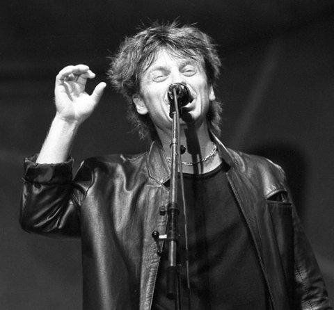 Popstjerne: Trond Granlund vant spellemannpris i kategorien pop i 1981. Foto: NTB Scanpix