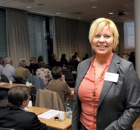I BEHOLD: – Det viktigste er at vi beholder en campus på Nedre Romerike, sier Anita Orlund i Kunnskapsbyen Lillestrøm.
