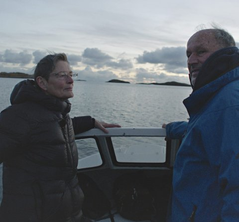 Tett på livet: Regissør Erik Poppe har fulgt Per Fuggeli det siste halvannet året før han døde. Filmen «Per Fuggeli- siste resept» har premiere 26. januar.foto: Nordisk Film distribusjon AS