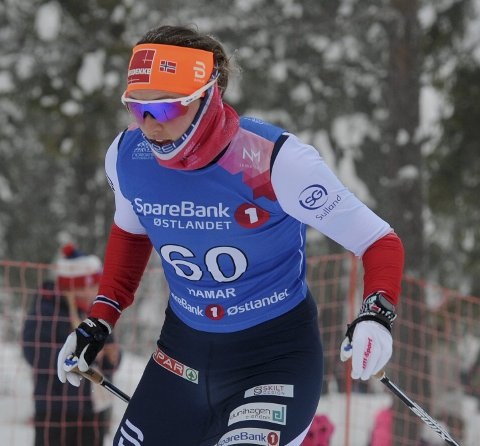 GOD SPRINT: Barbro Kvåle gikk en god norgescupsprint på Nes selv om hun ikke klarte å kvalifisere seg for finalen denne gangen. Foto: Svein Halvor Moe