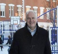 SJEF: Hans Jørgen Firing er direktør ved Skagerak International School.