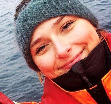 På Smøla blir fiskehelsebiolog Anne Moberg Vossgård første ansatte. Foto: Fishguard