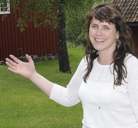 Fikk ikke medhold: Heller ikke klagen til Olav Voie fikk flertall i kommunestyret. Carolina Moland (H) talte imidlertid for Olav Voies sak i det digitale kommunestyremøtet. Dette bildet er tatt av henne ved en annen anledning.