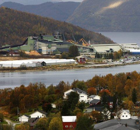 Etablerer nytt anlegg: Elkem Salten i Nordland skal etablere et energigjenvinningsanlegg, som skal gjenvinne 28 prosent av verkets energiforbruk.