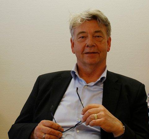 NY RÅDMANN: Hans-Petter Christensen blir ny rådmann i Svelvik kommune.