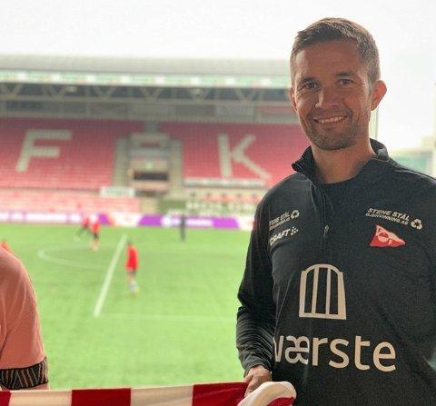 Neste uke takker Lars Petter Brovold av etter nesten fire år i FFK. Han avsluttet med stil.
