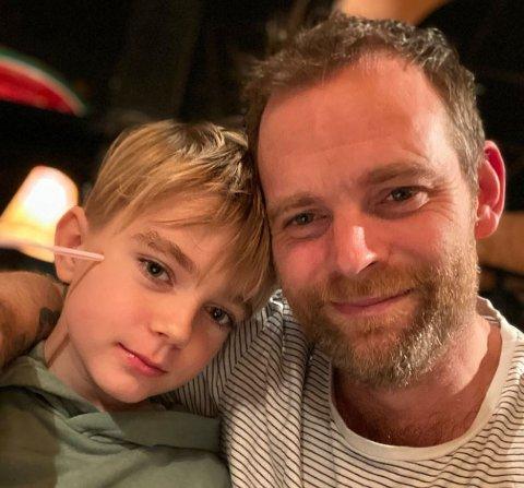 Christian Thorsnes Helle sier han har sønnen Theo sin fremtid  i tankene når han nå velger å melde seg inn MDG.