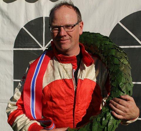 NORGESMESTER: Lars Morten Berntsen tok sitt femte NM-gull i helga. Dette var hans fjerde i bakkeløp.