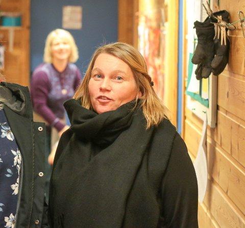 PÅ INNSIDEN: Foreldrerepresentant Lisa Kristin Åsesdatter Larsen og barnehagestyrer Birgitte Aulie.