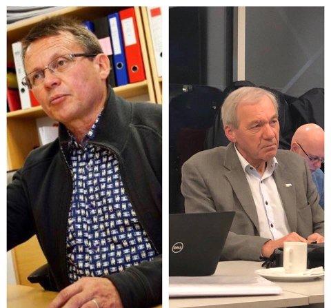 OL 2030: Lederen i Hordaland Idrettskrets, Helge Johnsen (t.h.), presenterte i ettermiddag en plan om OL i Norge i 2030. Knut Bjørklund (t.v.) mener at de ikke kom med en god nok plan.