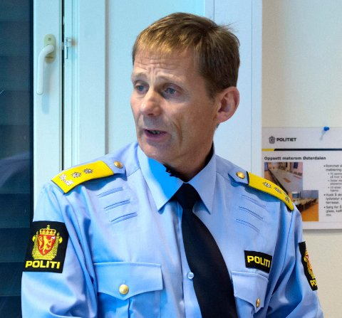 POLITIMESTER: Johan Brekke i Innlandet politidistrikt.