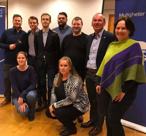 Politisk parti: Også det nystifta partiet Alver Høgre har registrert seg i foretaksregisteret.Arkivfoto