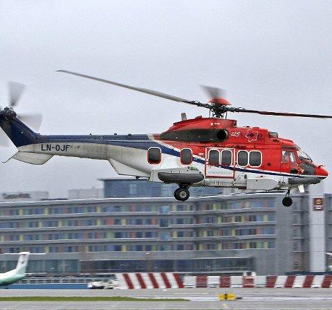 Det var et Super Puma-helikopter som styrtet ved Turøy. Nå har Luftfartstilsynet satt alle helikoptrene på bakken.