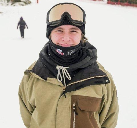 Medaljekandidat: Ferdinand Dahl fra Ingierkollen Rustad Slalomklubb er i verdenstoppen i slopestyle.  Om en drøy måned setter han utfor i OL-løypene i PyeongChang.