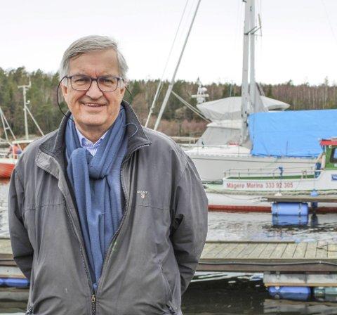 SNART FULLT: Det er ikke mange år Arnulf L'orsa har hatt båtplasser til overs på Mågerø Marina.