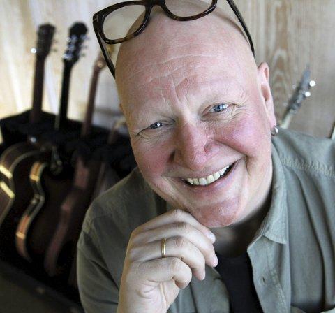 Gleder seg: Frode Alnæs har alltid hatt et sterkt forhold til New orleans og musikken der. Nå vil ha ha nordmøringene med på tur.
