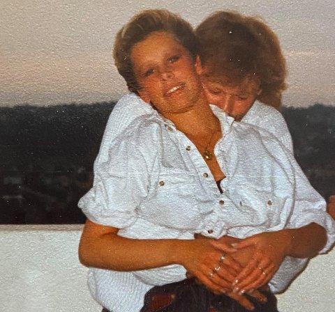 Stine Stålsdatter Rønbeck og Lars Erling Sveen var et par i mange år. Nå har hun tatt kontakt med ham igjen.
