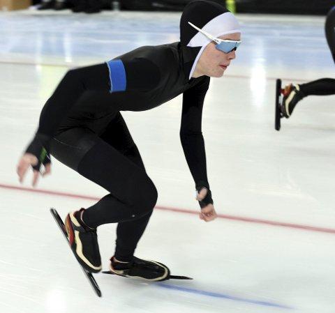 I LANDSKAMP: Synne Moen Bredalslien fra Tynset var med på å vinne landskamp på skøyter i Sundsvall. Arkivfoto: Arne Inge Næss