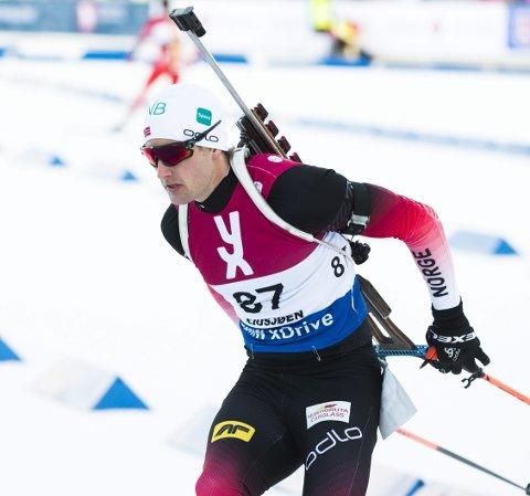 Tredjeplass til Nils-Erik Ulset .Foto: Berit Roald / NTB scanpix