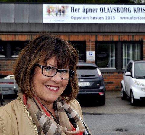Styreleder: Helene Auseth er i dag rektor ved Olavsborg kristne skole i Sarpsborg. Nå har aksjeselskapet Bra skole som hun er styreleder i, søkt om å etablere kristen skole i Fredrikstad.