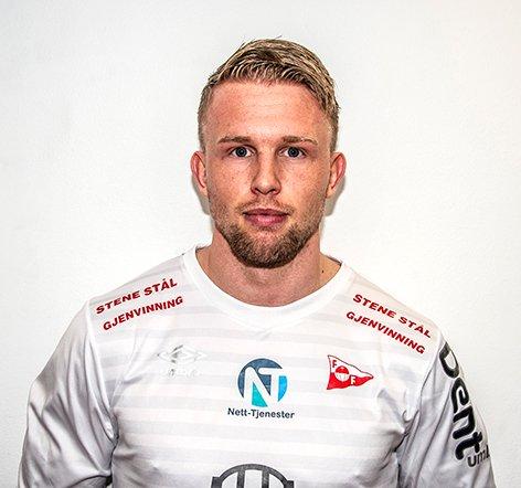 FLERE SJANSER: Tim Nilsen hadde flere sjanser, men lyktes ikke da FFK-rekruttene spilte uavgjort 0-0 mot Kvik Halden 2.