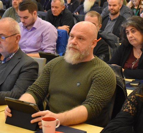 UTSATT: Leder i hovedutvalget, Eirik Belaska fra Arbeiderpartiet, mener det var helt riktig å utsette saken tirsdag kveld.