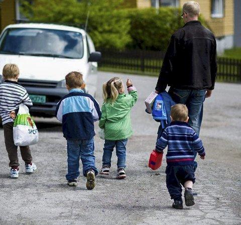 TILSYN: Kommunen er ikke ferdig med tilsynet av de private barnehagene. Dette er et illustrasjonsfoto og  arkivbilde.