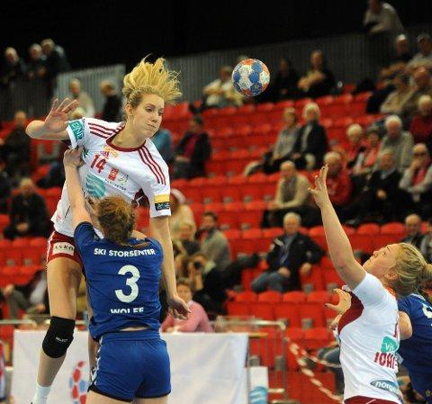DANMARK NESTE: Kristine Breistøl er ferdig i Larvik og har signert en to-årskontrakt med danske Team Esbjerg.