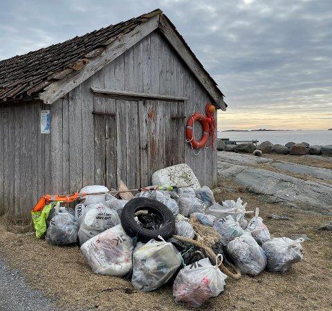 RYDD NORGE: Gea Norvegica Geopark skal fjerne plast og søppel fra kystområder i Norges første nasjonale ryddeprogram.