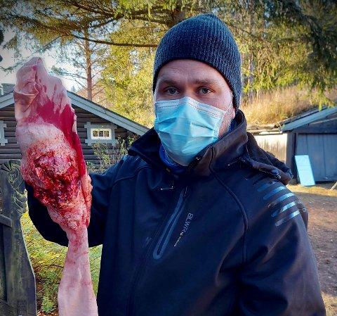 LANG CV: Steinar Kaarstein fra Eik har etter hvert jobbet på mange filmer og serier som effektmaker. Kan du se hva han har laget her?
