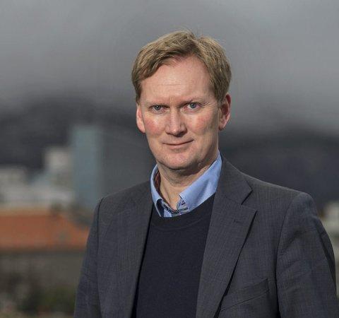 FORSTÅELSE 2: Byrådslederkandidat Harald Schjelderup (Ap) mener man kanskje bør se nærmere på eiendomsskatteloven.ARKIVFOTO: