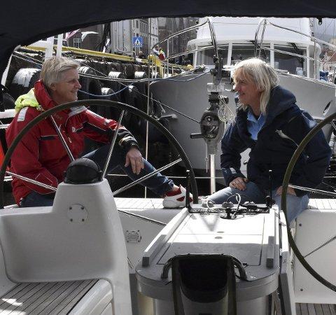 Felles drøm: Anne og Reidun deler lidenskapen for hav og reiser og har lenge drømt om den store langturen. Foto: Camilla Aasen Bøe