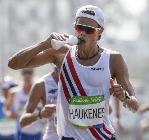 Vm-håp 2: Her er Håvard Haukenes (t.v.) på vei inn til en 7.-plass i OL i fjor. Kappgangeren sikter mot toppen i London. arkivfoto: NTB scanpix